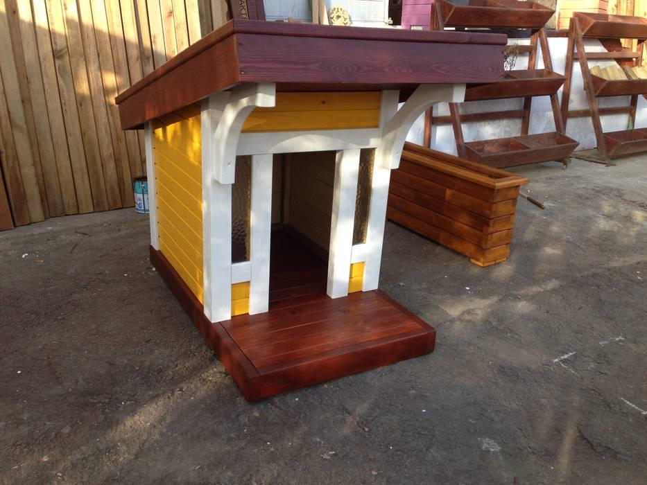 Nowoczesny ogród od As3 Orman Ürünleri San Ve Tic Ltd Şti Nowoczesny Drewno O efekcie drewna