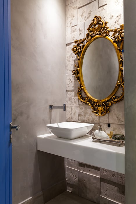 RAC ARQUITETURA Colonial style bathroom