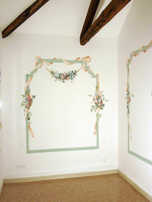 Decorazione per camera. tempera.: camera da letto in stile di erica ...