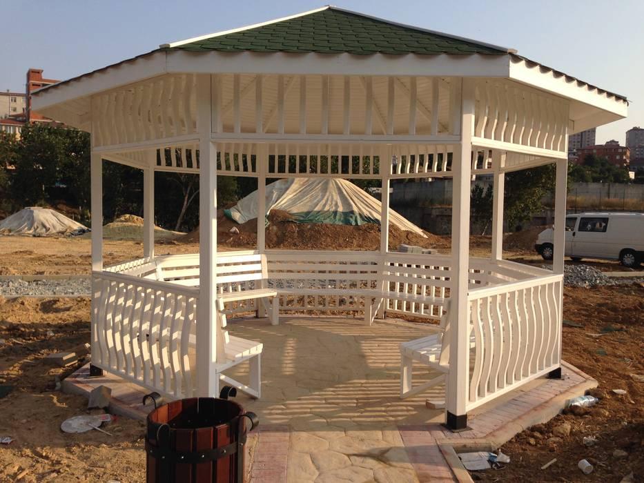 Modern Garden by As3 Orman Ürünleri San Ve Tic Ltd Şti Modern Wood Wood effect