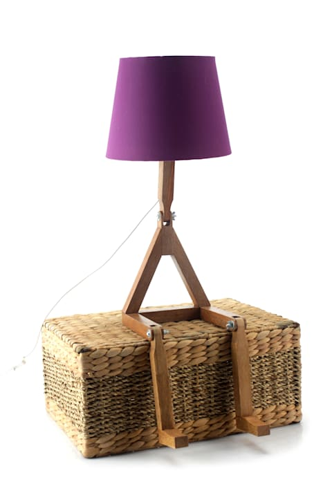 Cromalux Sistemas de Iluminação Ltda DormitoriosIluminación Madera Morado/Violeta