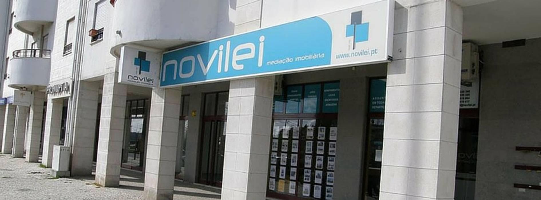 Agência Lojas e Espaços comerciais modernos por Novilei Imobiliária Moderno