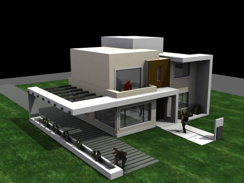 Casa san alfonzo lote 210 casas de estilo minimalista por for Arquitectura de casas minimalistas