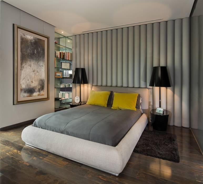 Dormitorios de estilo moderno de Línea Vertical Moderno