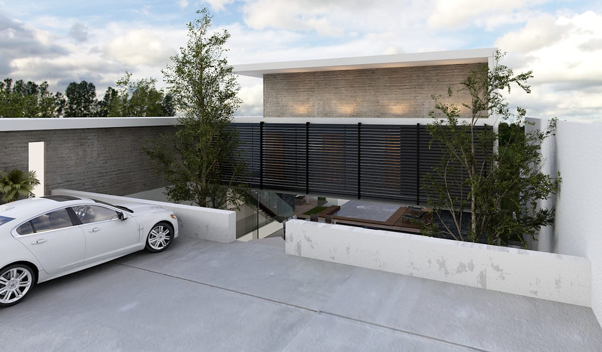 Modern houses by AParquitectos Modern Wood Wood effect