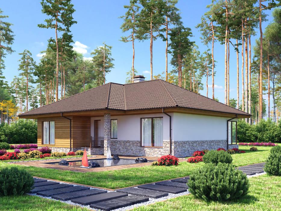 Лахти_167,5 кв.м. Дома в скандинавском стиле от Vesco Construction Скандинавский