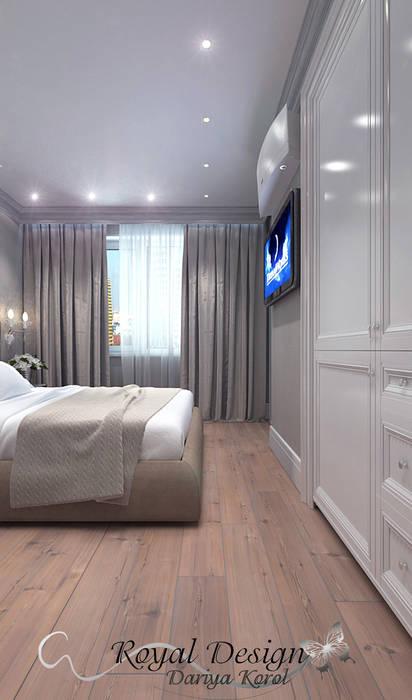 Kamar Tidur Klasik Oleh Your royal design Klasik