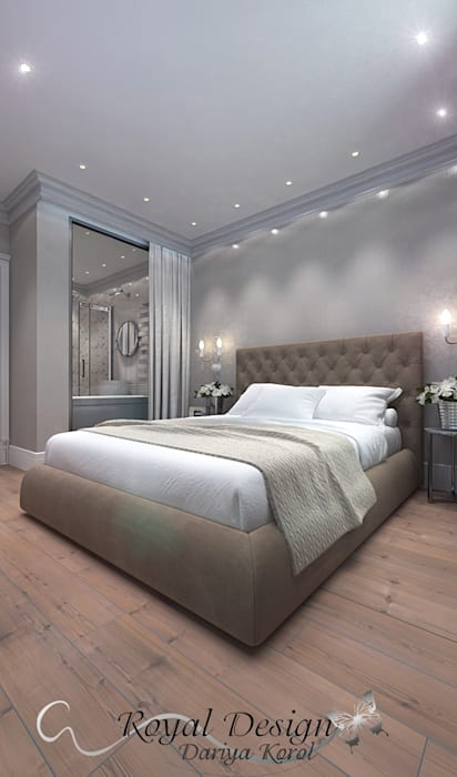 Your royal design Classic style bedroom Beige