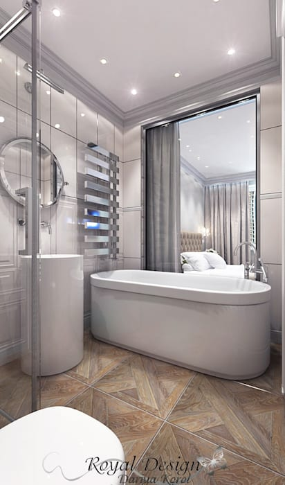 Your royal design Classic style bathrooms White