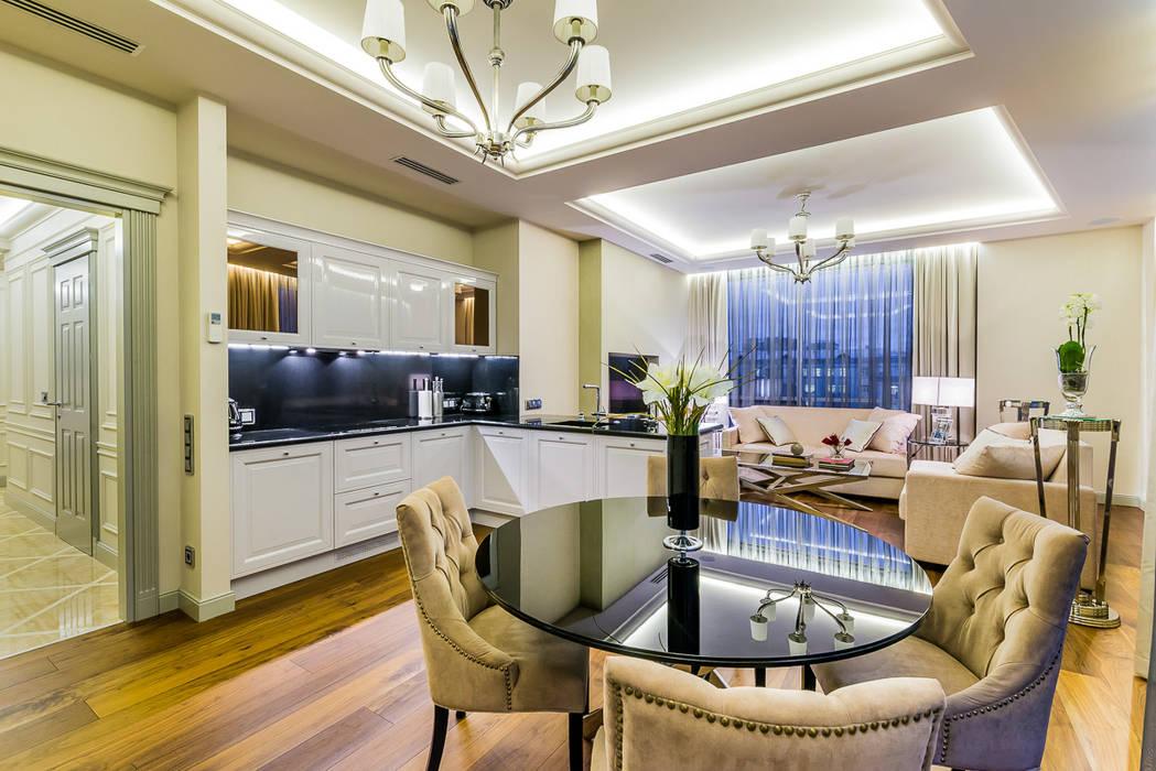 Salon original par Tony House Interior Design & Decoration Éclectique