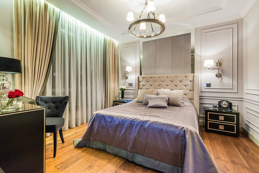 Chambre originale par Tony House Interior Design & Decoration Éclectique