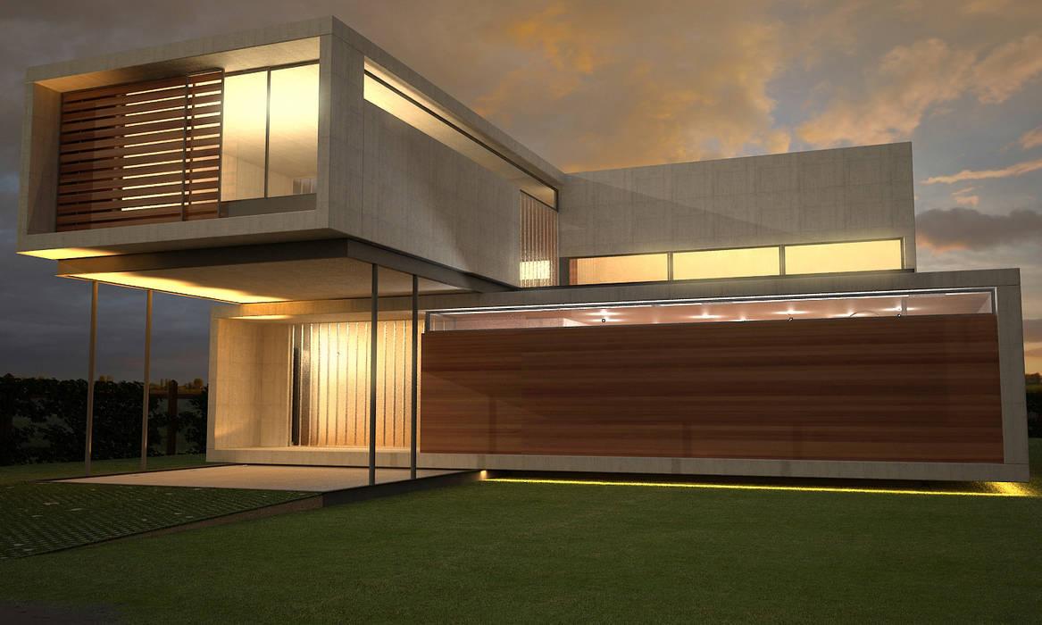 MKIT E 100 de metodokit - vivienda suburbana Moderno