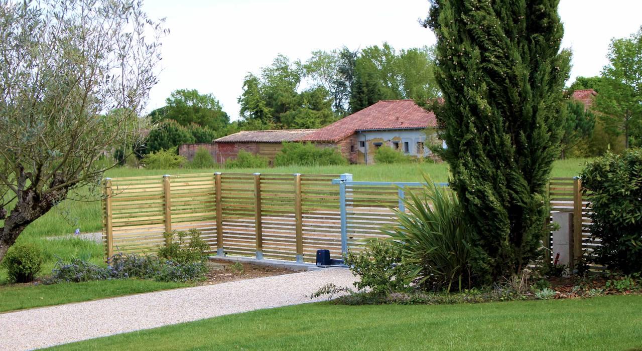 Portail: Jardin de style de style Moderne par Constans Paysage