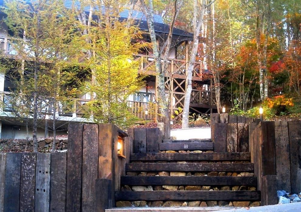 施行事例 モダンな庭 の 自然景観設計舎.LTD モダン