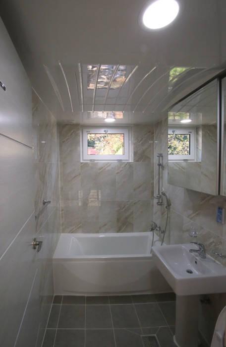 유천동 (Youcheondong) Salle de bain moderne par HOUSE & BUILDER Moderne