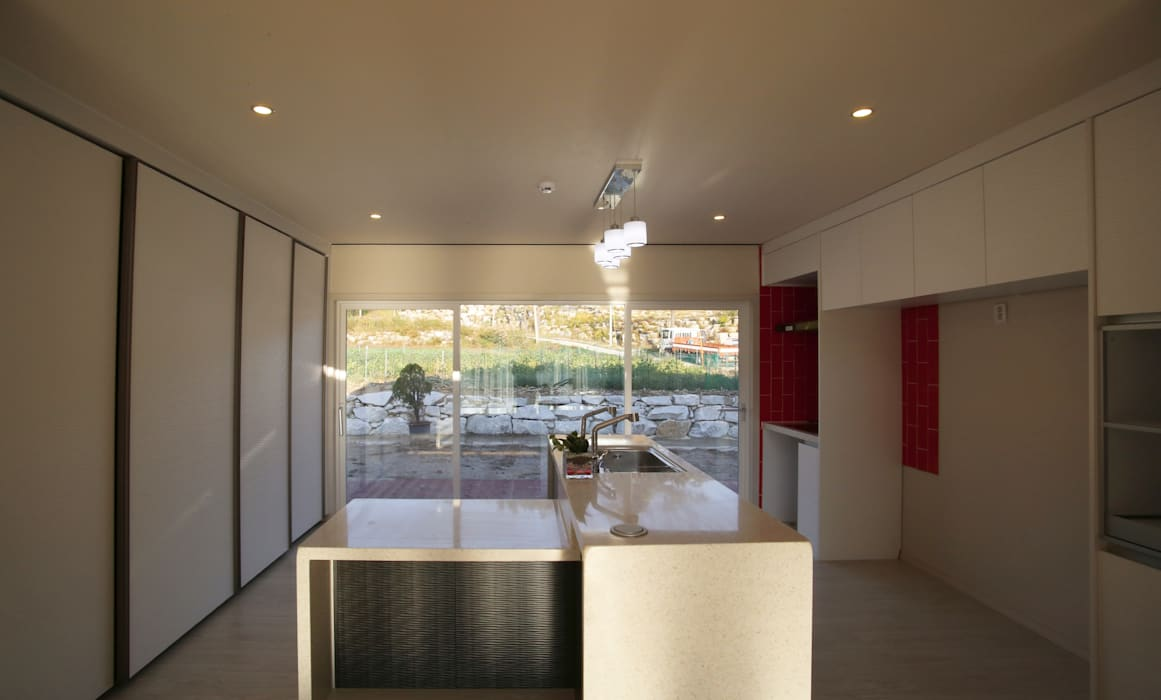 유천동 (Youcheondong) Cuisine moderne par HOUSE & BUILDER Moderne