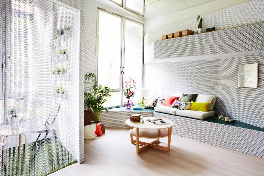 Salas de estar  por Zooco Estudio, Eclético