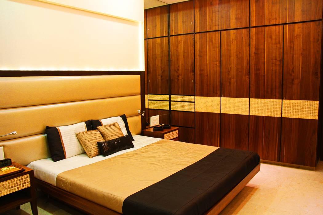 The Shah Villa Minimalist bedroom by Elevate Lifestyles Minimalist