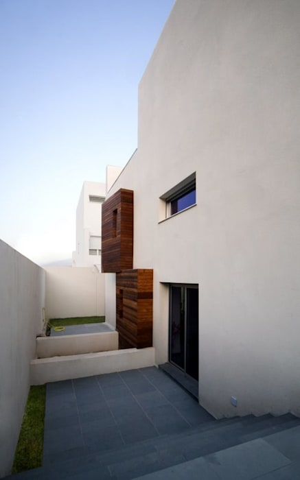 Rumah Minimalis Oleh Ceres A+D Minimalis Kayu Wood effect