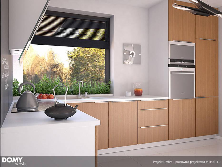 Wizualizacja wętrza projektu domu Umbra homify Nowoczesna kuchnia