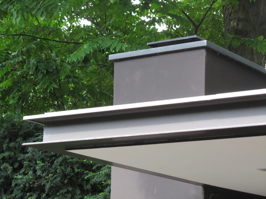detail Moderne balkons, veranda's en terrassen van Arend Groenewegen Architect BNA Modern