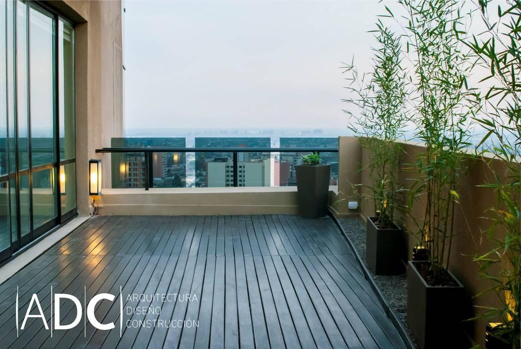 Diseño terraza Estudios y oficinas modernos de DIAZ GUERRA ESTUDIO Moderno