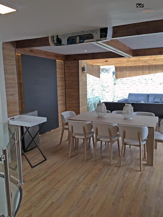Modern Terrace by Arquitectura101 + Kably Arquitectos Modern
