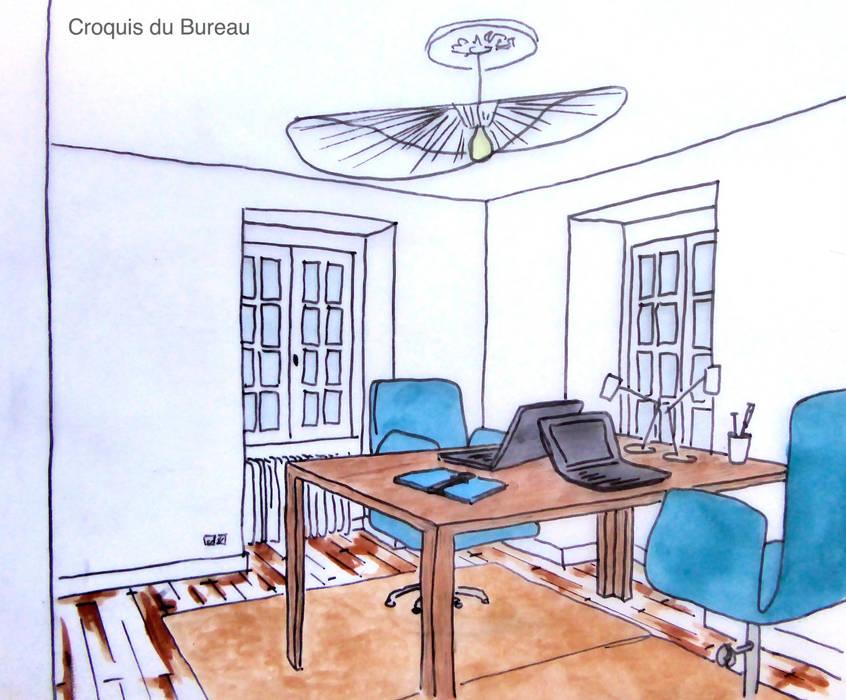 Notre proposition: Bureau de style  par Mon Intérieur Sur Mesure (MISM)