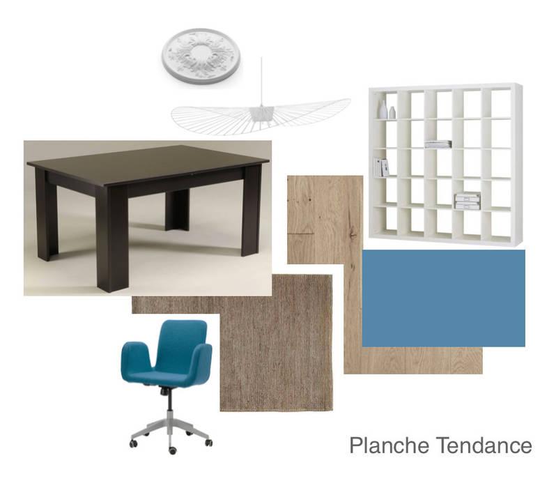 Planche shopping: Bureau de style de style Moderne par Mon Intérieur Sur Mesure (MISM)