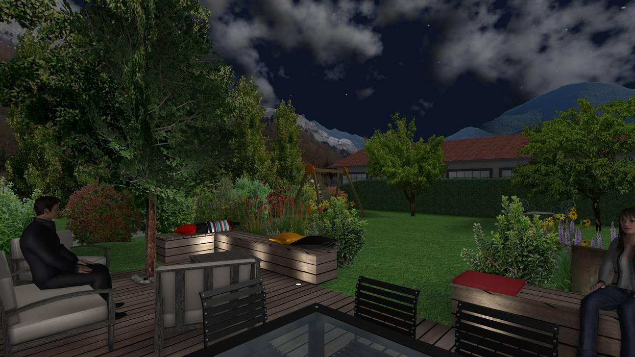 Jardin cocon Anthemis Bureau d'Etude Paysage Jardin moderne