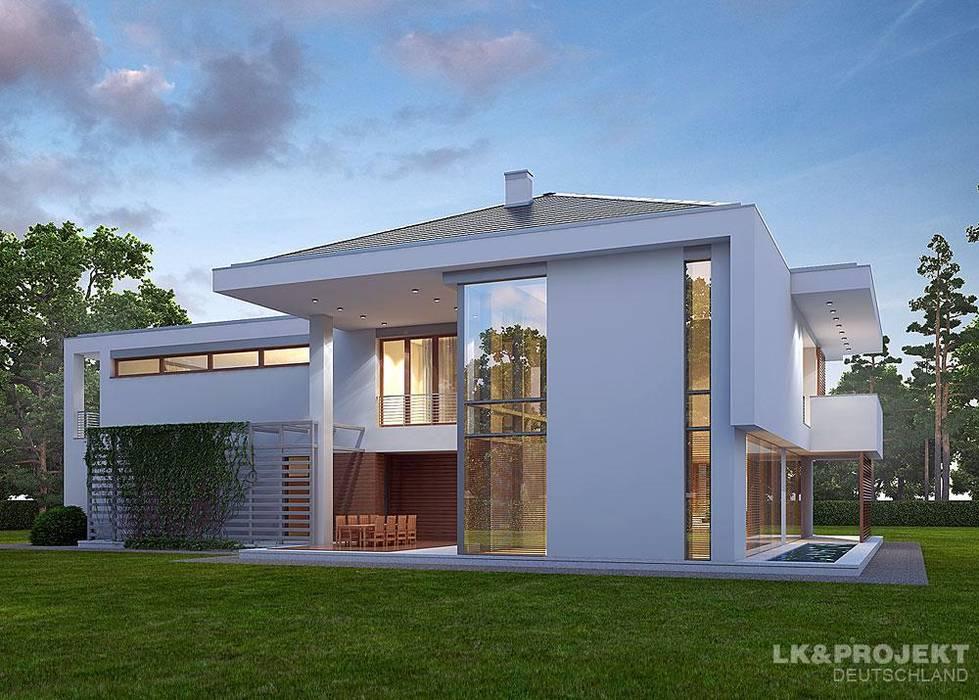 Modernes Architektenhaus, das Freude macht. LK&Projekt GmbH Moderne Häuser