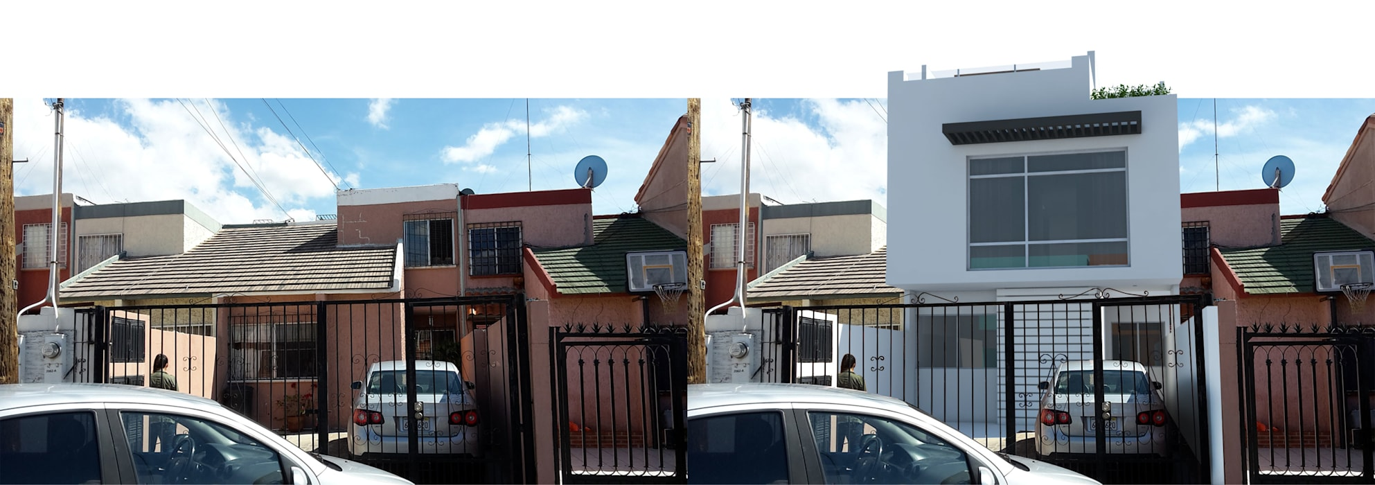 Casa Otay Tecnologico de ATTICA ARQUITECTOS Moderno