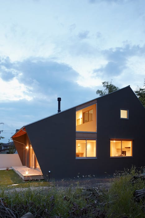 Modern houses by toki Architect design office Modern Wood Wood effect
