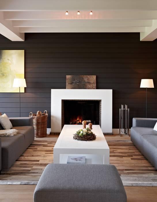 Wohnzimmer im Landhausstil von Brand I BBA Architecten Landhaus