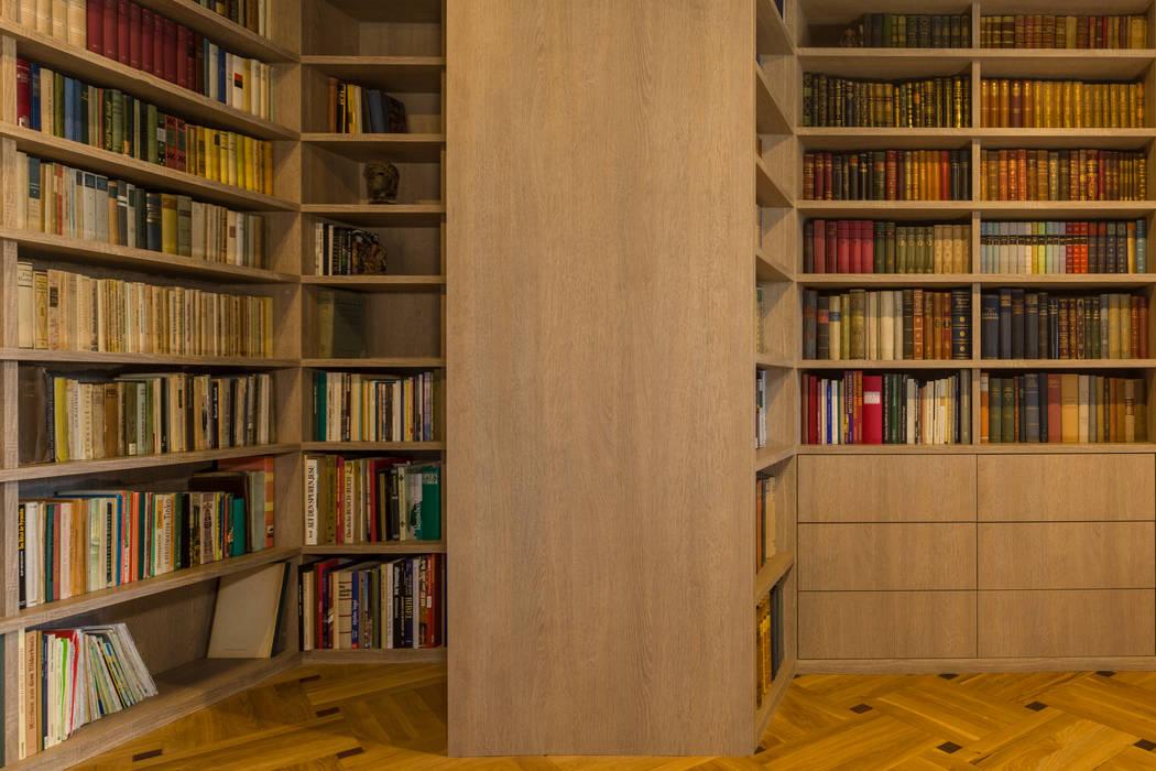 dieMeisterTischler Ruang Keluarga Modern