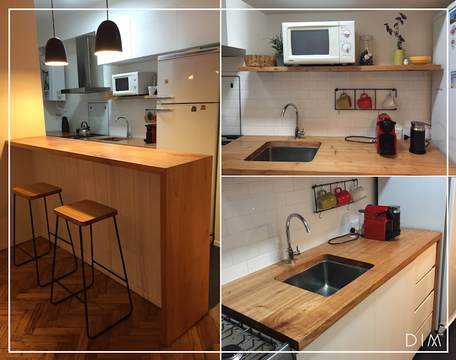 by DIM Arquitectura Minimalist Wood Wood effect