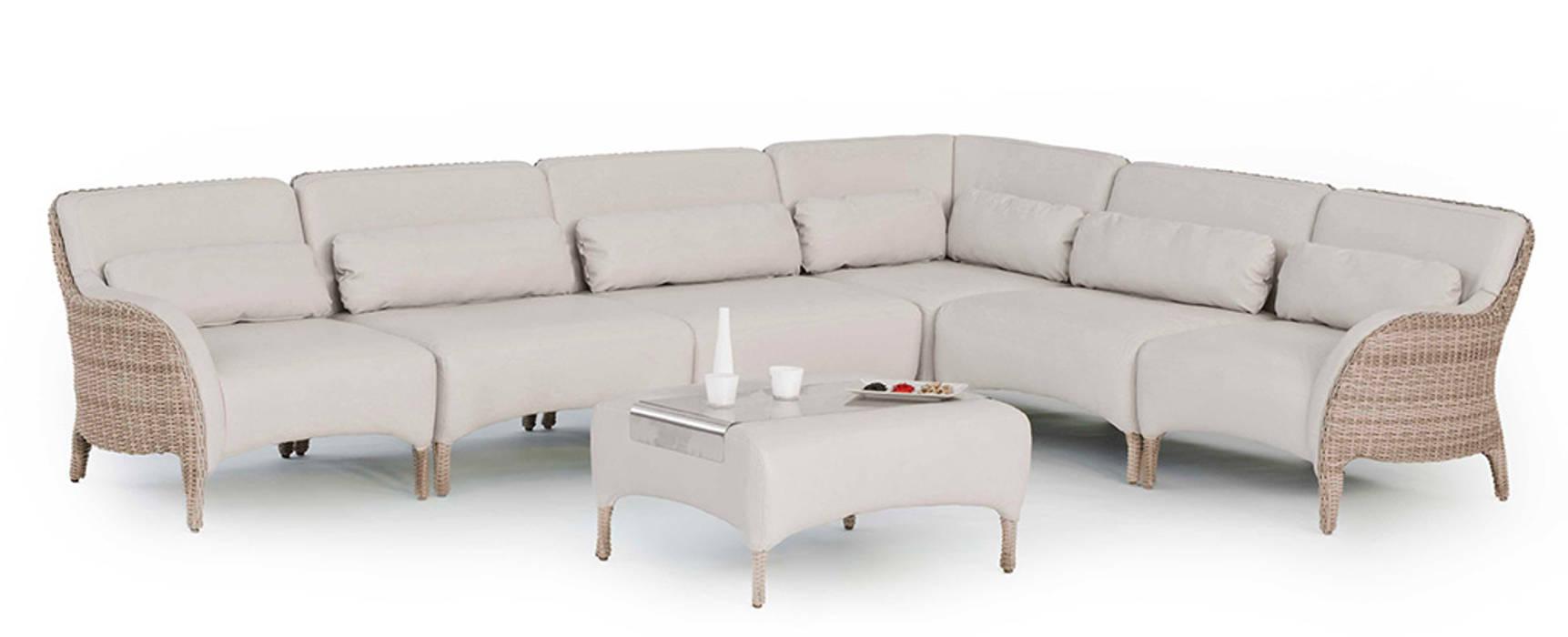 Hevea Garden Furniture Synthetic White
