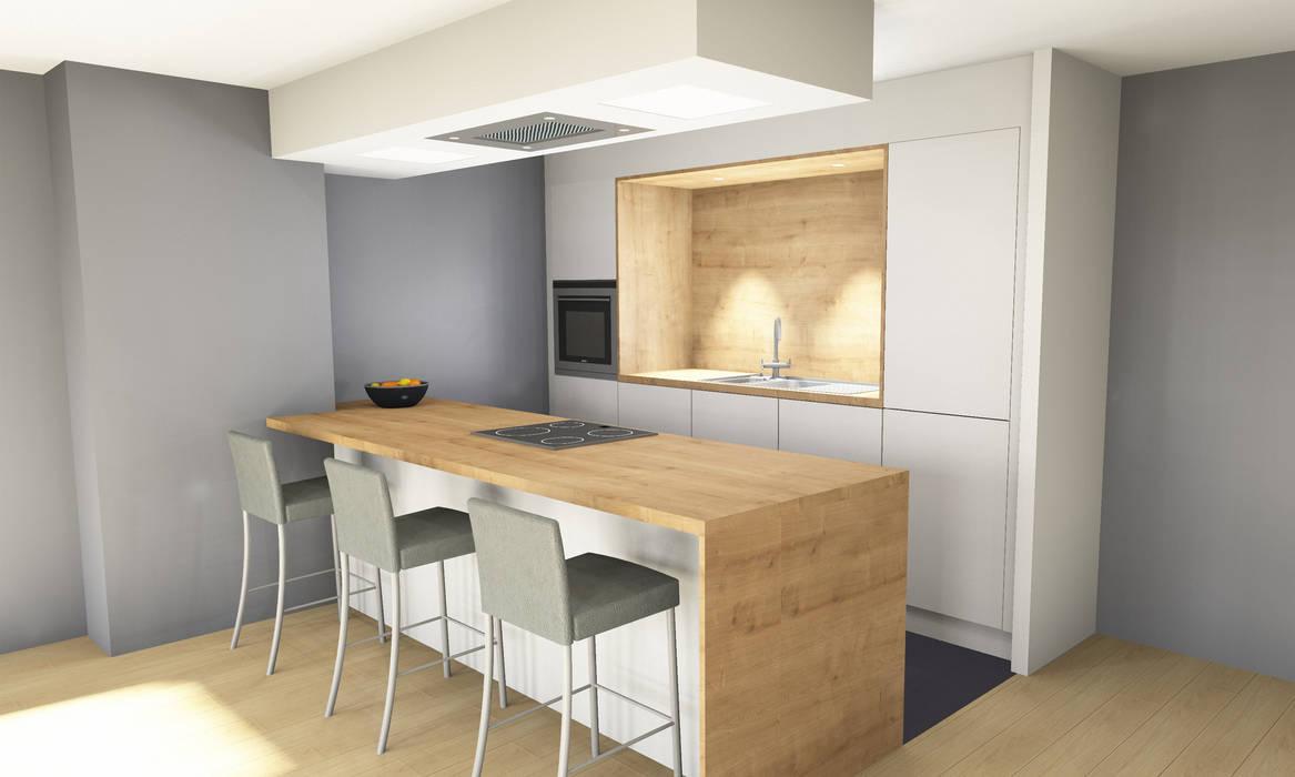 cuisine scandinave : cuisine de style par boddaert interieur | homify