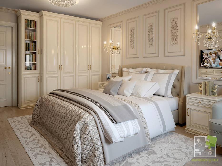 غرفة نوم تنفيذ Елена Марченко (Киев)