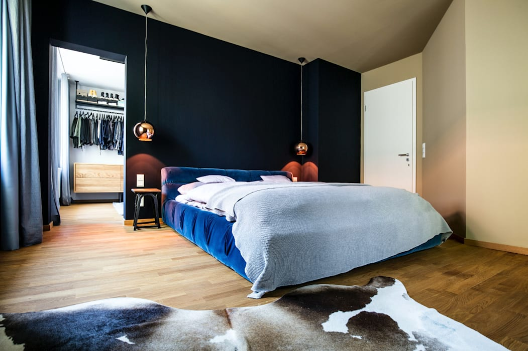 Interior design wohnung r : moderne schlafzimmer von bespoke gmbh ...