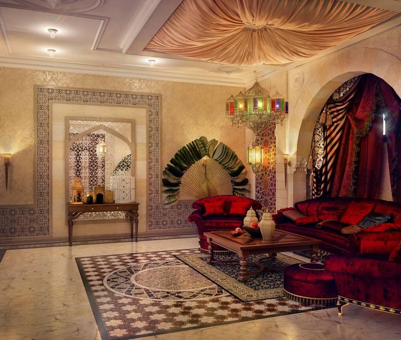 Salon de style  par Sweet Home Design,