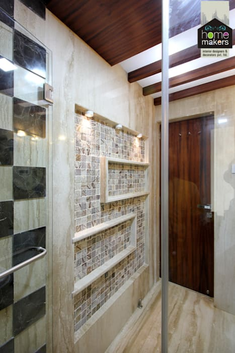 Guest Washroom 3:  Bathroom by home makers interior designers & decorators pvt. ltd.