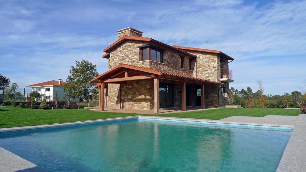 Maisons de style  par AD+ arquitectura,