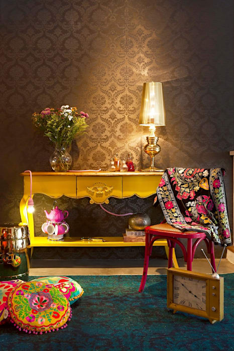 Salas / recibidores de estilo  por Andrea Lenz