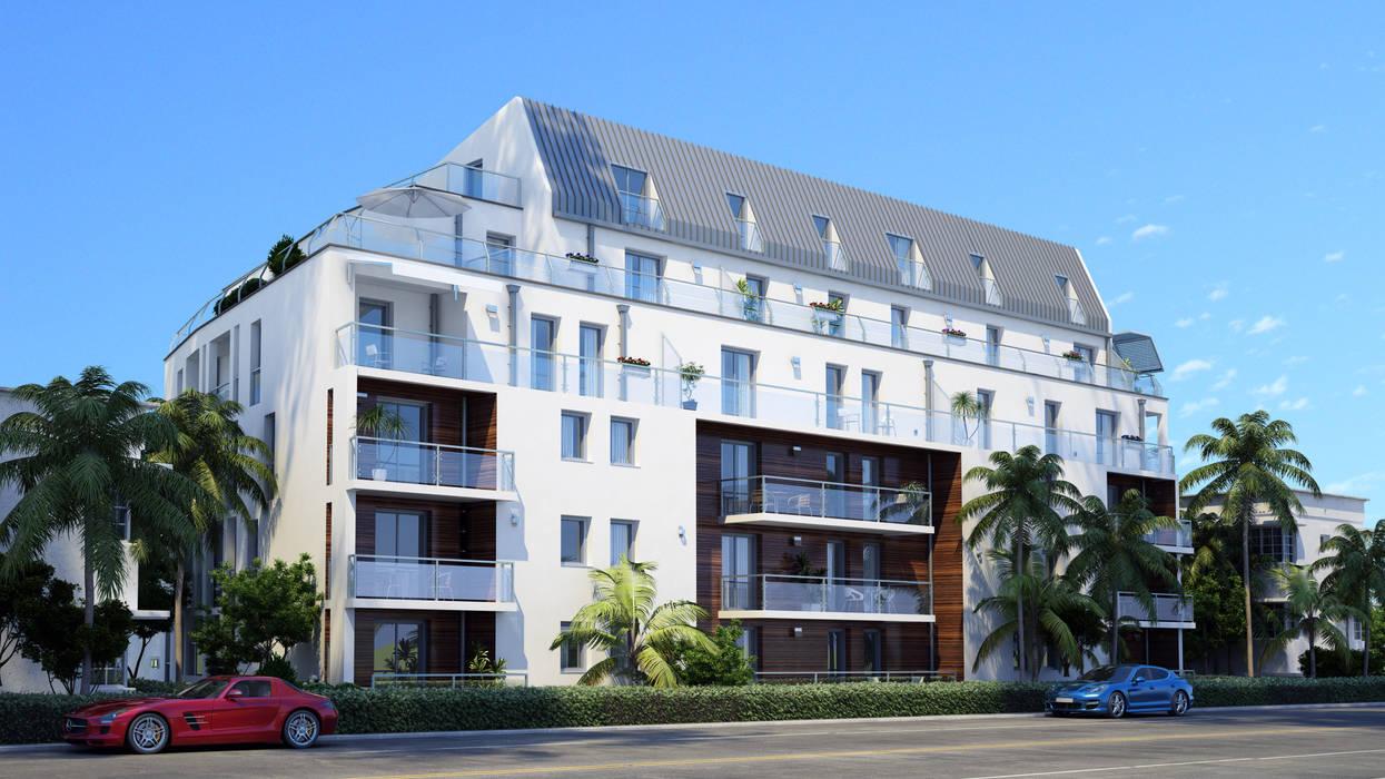 Architectural rendering Vrender.com Hotel Modern