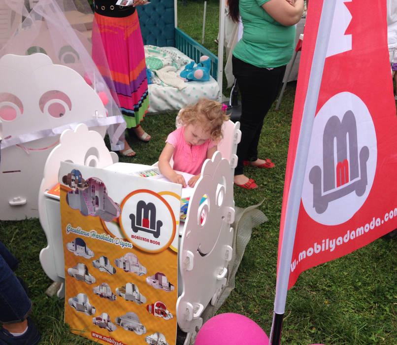Çocuk aktivite masa ve sandalyesi MOBİLYADA MODA Çocuk OdasıÇalışma Masaları & Sandalyeler Ahşap Beyaz