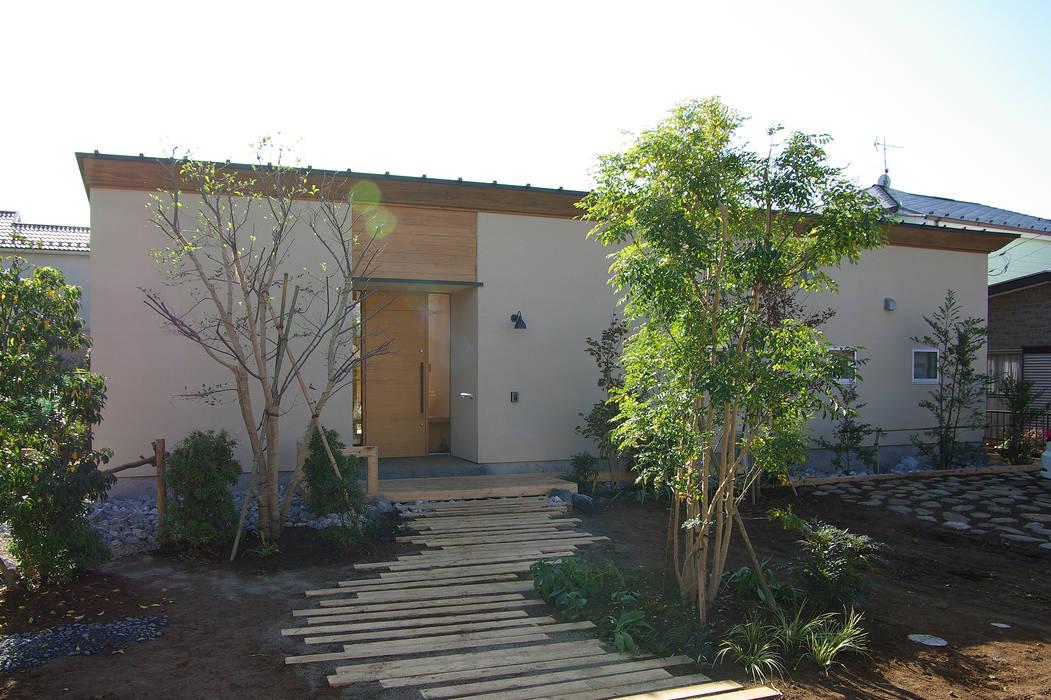 Casas minimalistas por 環境創作室杉 Minimalista