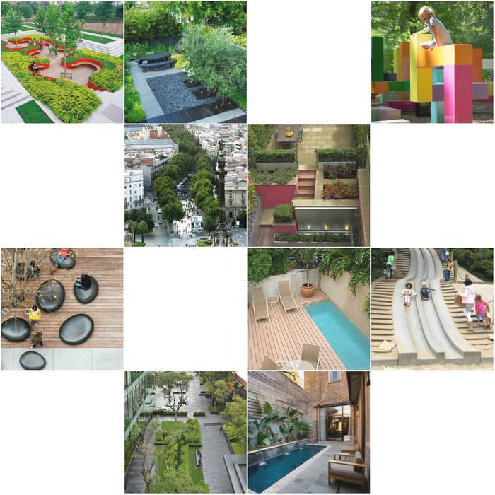 Estudos, Projectos e Intervenções: Varandas, marquises e terraços ecléticos por USER WAS DELETED! Eclético