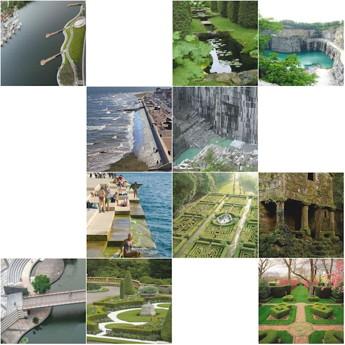 Projectos de Recuperação e Integração Paisagística:: Jardins  por Trifolium LAA