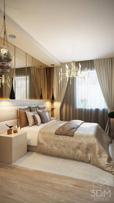 студия визуализации и дизайна интерьера '3dm2' Minimalist bedroom